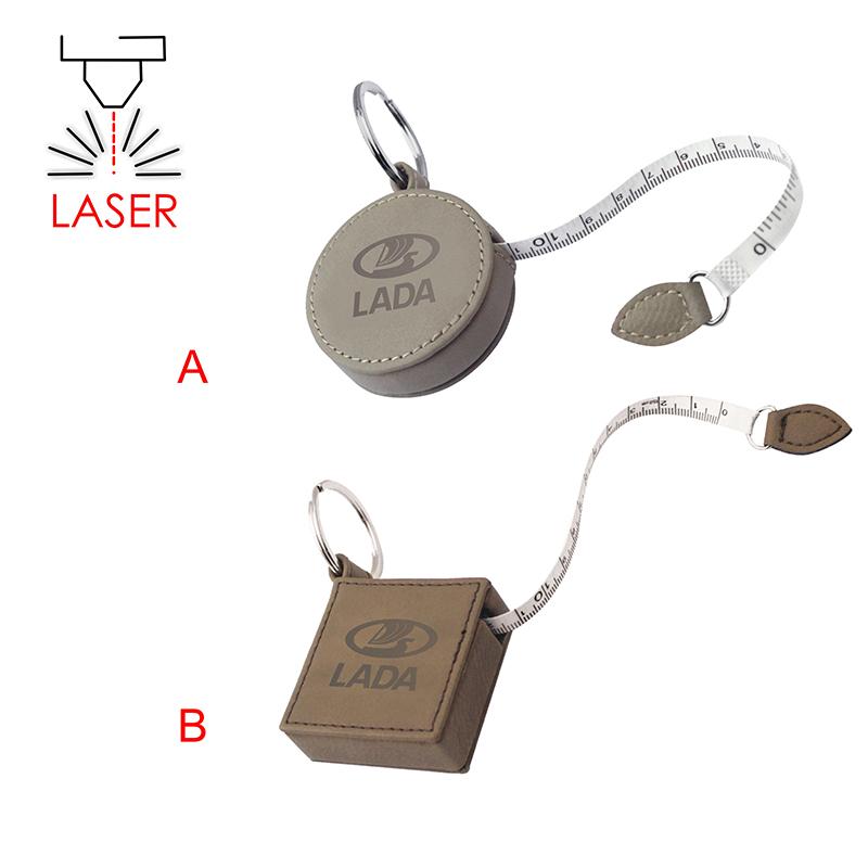 Kľúčenka – zvinovací meter z imitácie kože  8dca75cf2d4