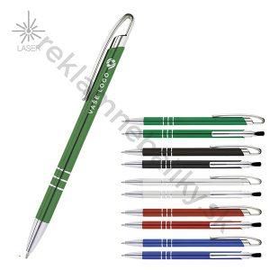 reklamné kovové pero s gravírovaním loga v cene