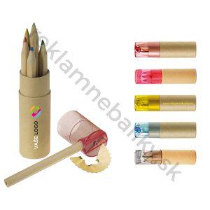 Farbičky s potlačou loga, obľúbený reklamný predmet vhodný pre firmy