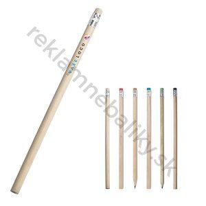 Reklamná drevená ekologická ceruzka s potlačou loga