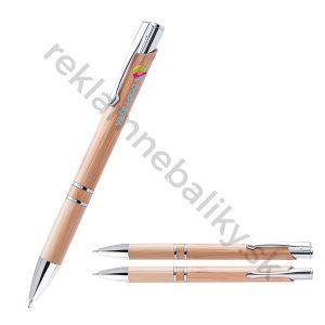 Drevené ekologické pero s potlačou