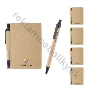 Zápisník a pero s potlačou - Luemo