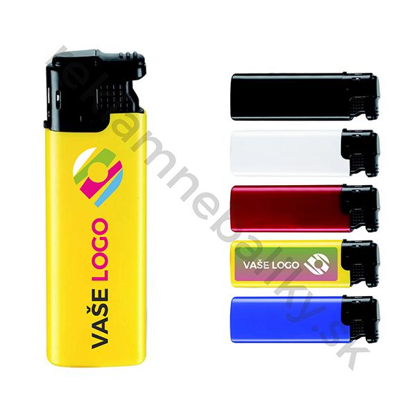 triskový reklamný zapaľovač s potlačou loga v cene, ideálny reklamný predmet